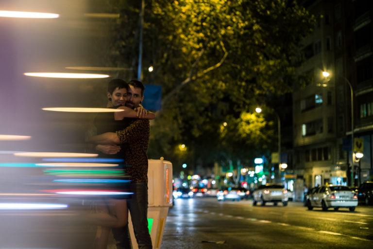 Noche de Madrid   Preboda por Javier Rey fotógrafo de bodas internacional residente en Madrid