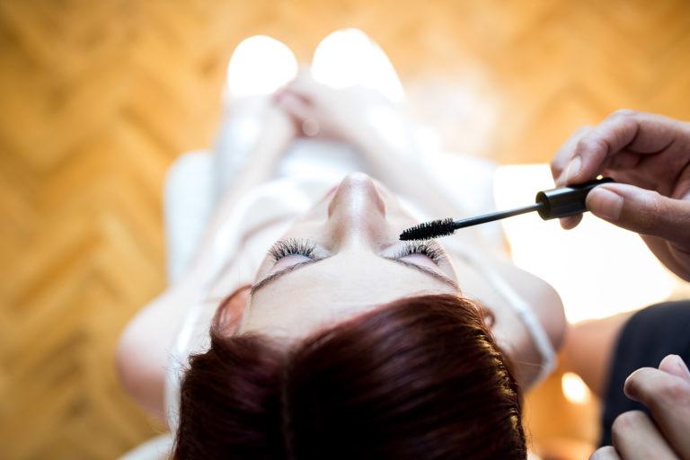 Maquillando a la novia |Fotógrafo de boda