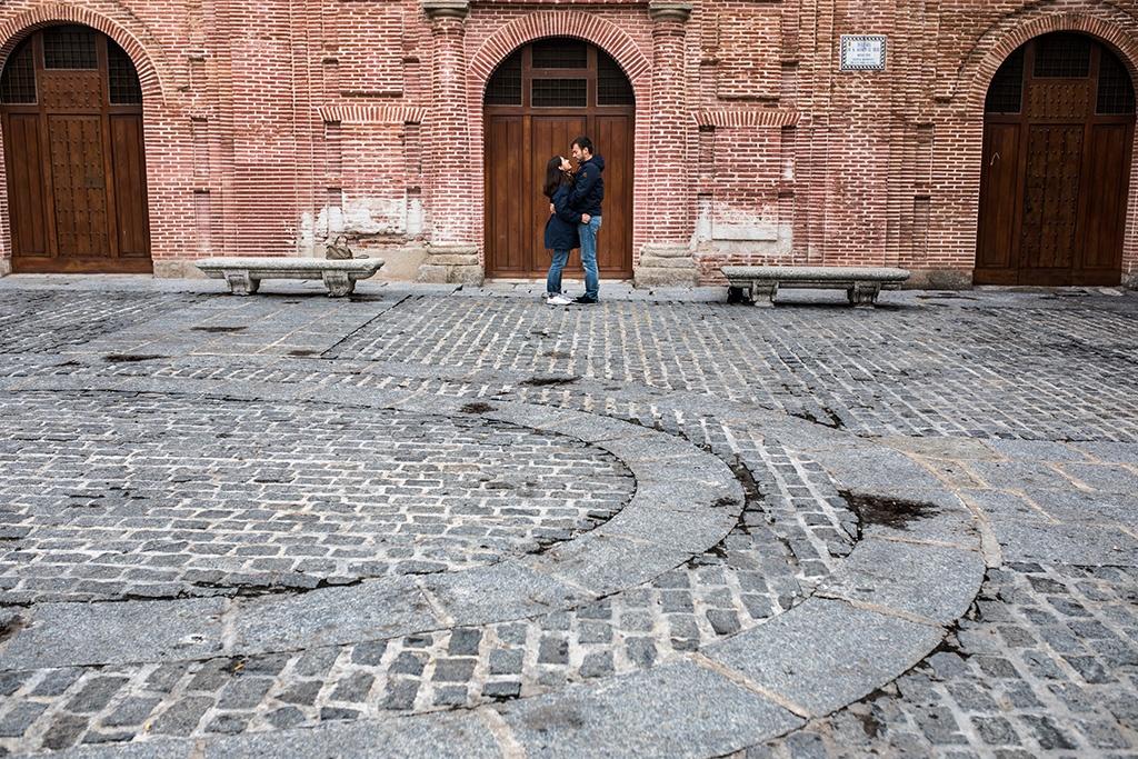 Sesión de fotos preboda en Talavera de la Reina
